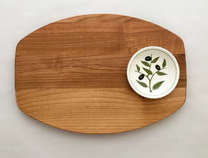Single Dish Olive Dipping Board