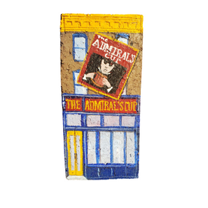 Linda Amtmann Hand Painted Brick-The Admiral's Cup