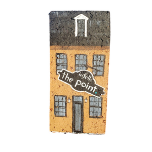 Linda Amtmann Hand Painted Brick-The Point