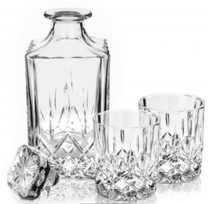 Viski - Admiral™ - Crystal Tumblers and Decanter Set