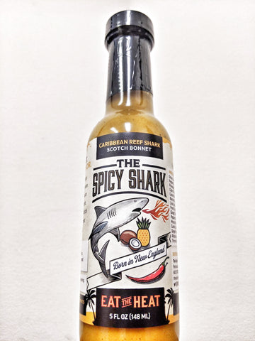 The Spicy Shark - Caribbean Reef Shark Hot Sauce (Scotch Bonnet)