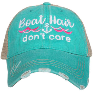 Katydid - Boat Hair Don't Care Wholesale Trucker Hats