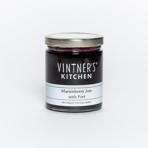 Vintner's Kitchen LLC - Marionberry Jam With Port