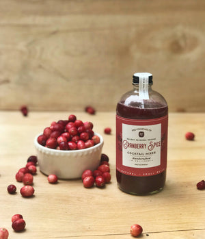 Yes Cocktail Co - Limited Release (Holiday) Cranberry Spice Cocktail Mixer