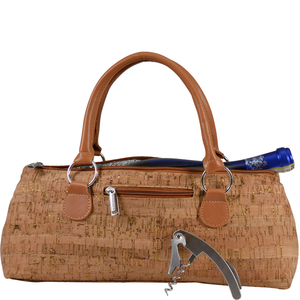 Primeware Inc. - Wine Clutch Gold Cork Insulated Single Bottle