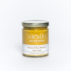 Vintner's Kitchen LLC - Honeyed Wine Mustard With Garlic