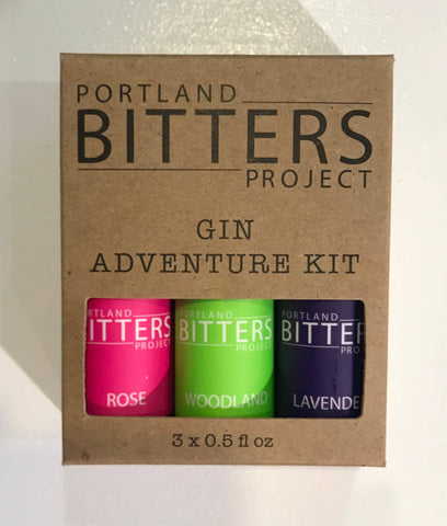 Portland Bitters Project - Gin Bitters Adventure Kit