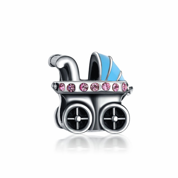 Ritsy Baby Carriage Charm