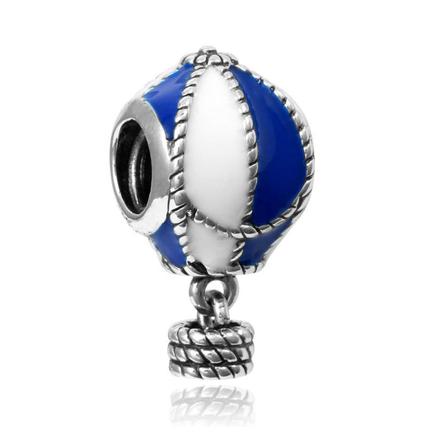 Beautiful Blue Balloon Charm