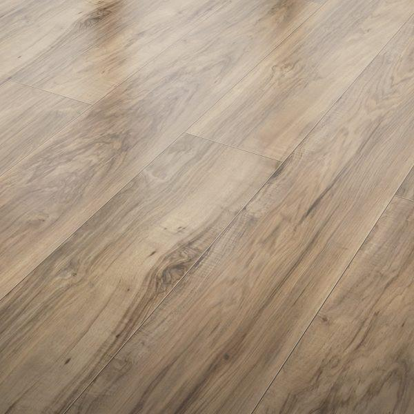 Rustic Pecan - 10mm Laminate Flooring by Inhaus