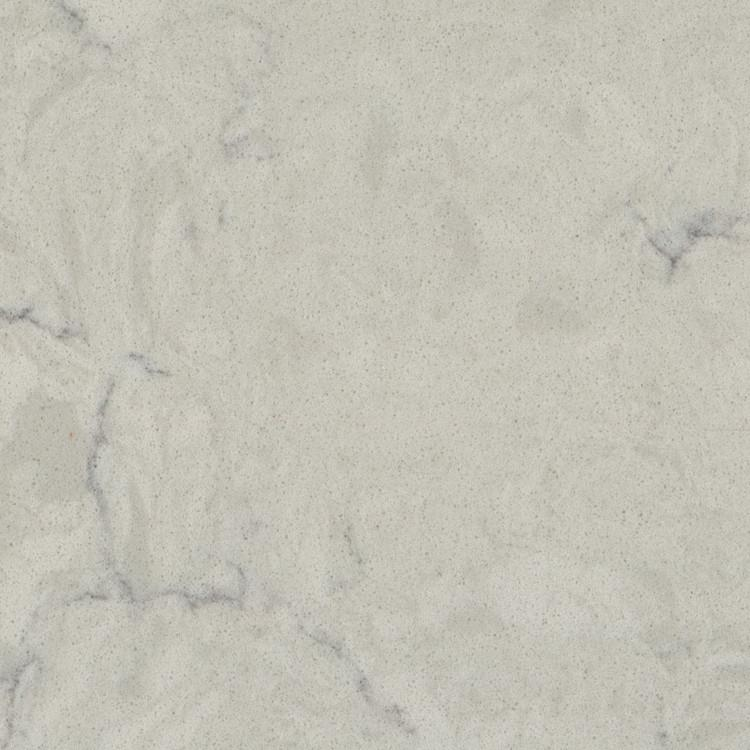 Dove White Prefabricated Quartz Countertop by BCS Vienna