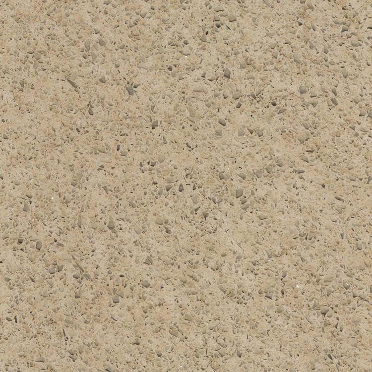 Golden Coast Prefabricated Quartz Countertop by BCS Vienna
