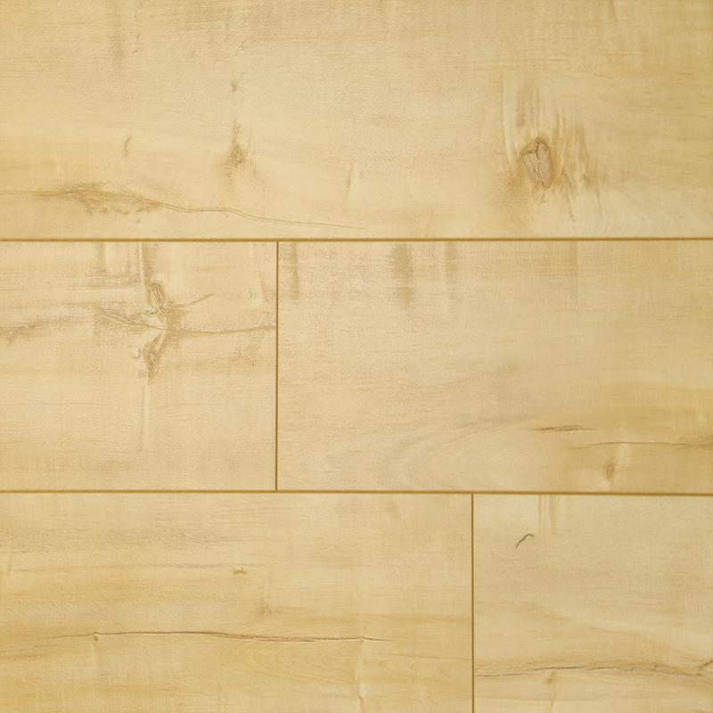 Gold Rush Maple - 12mm Laminate Flooring by Tecsun