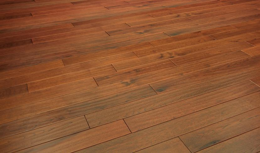 HANDSCRAPED COLLECTION Hickory Sunset - Engineered Hardwood Flooring by Urban Floors, Hardwood, Urban Floor - The Flooring Factory