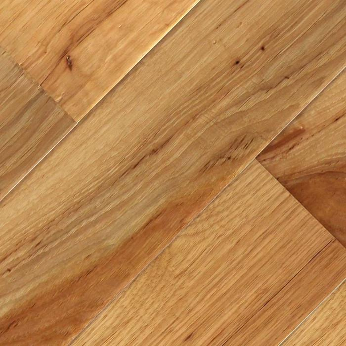 "Hickory Natural - 5"" x 1/2"" Engineered Hardwood Flooring by Oasis"
