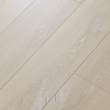 White Sand - 12.3mm MEGAClic Laminate Flooring by AJ Trading