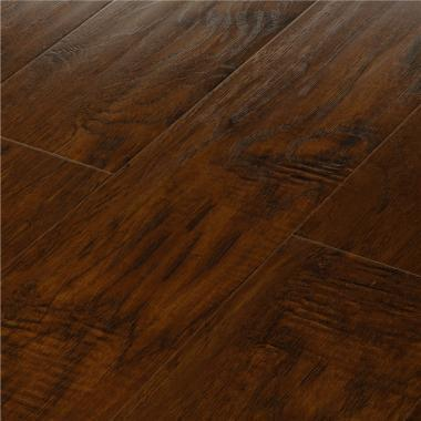 Winston Hickory - 8.3mm MEGAClic Laminate Flooring by AJ Trading