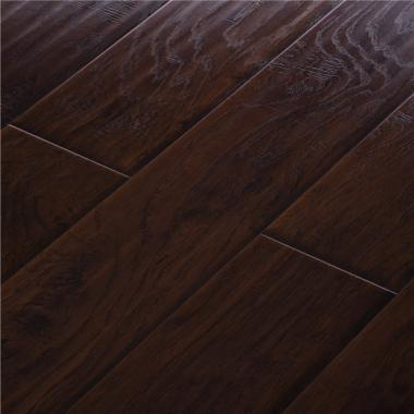 Midnight Hickory - 12.3mm MEGAClic Laminate Flooring by AJ Trading