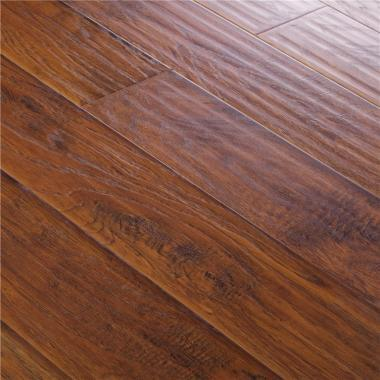 Winston Hickory - 12.3mm MEGAClic Laminate Flooring by AJ Trading