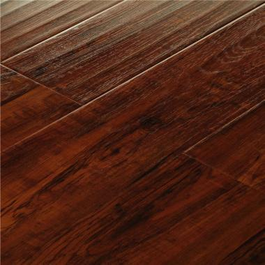 African Teak - 12.3mm MEGAClic Laminate Flooring by AJ Trading