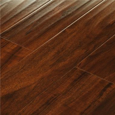 Borneo Teak - 12.3mm MEGAClic Laminate Flooring by AJ Trading