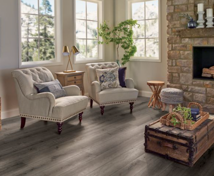 Armstrong Rugged Brown -  Armstrong Collection Waterproof Flooring