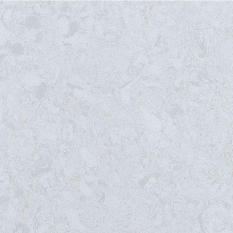 Stratus White Prefabricated Quartz Countertop by BCS Vienna
