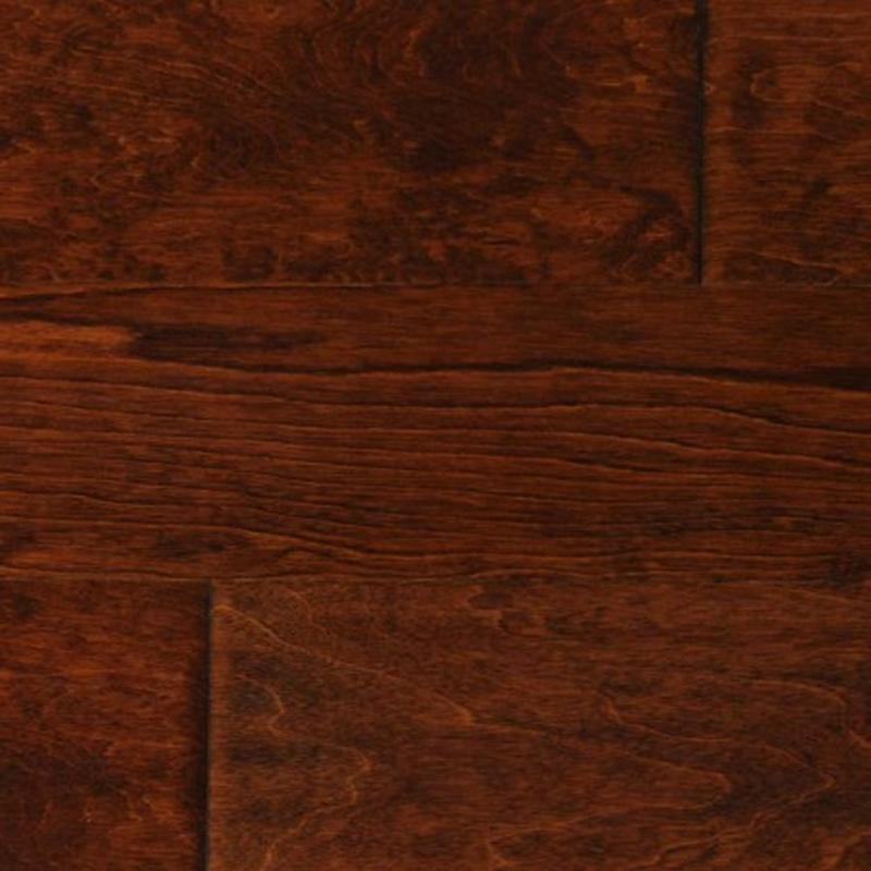 "Bordeaux Birch - 4 13/16"" x 1/2"" Engineered Hardwood Flooring by Tecsun"