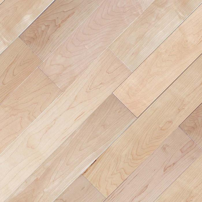 "Canadian Maple Natural - 3 9/16"" x 1/2"" Engineered Hardwood Flooring by Oasis"