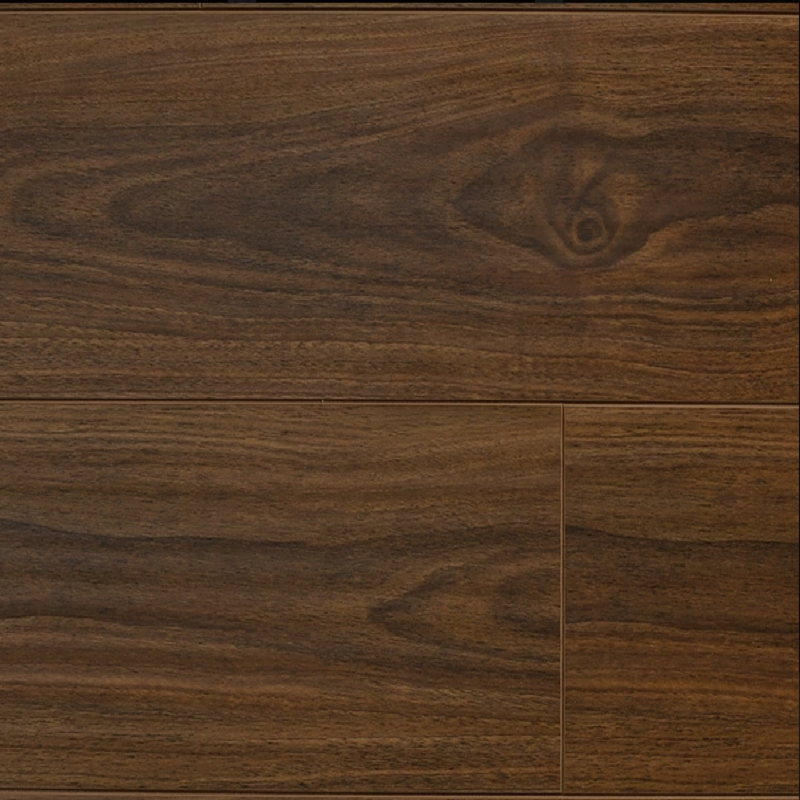 Distressed Walnut - 12mm Laminate Flooring by Republic