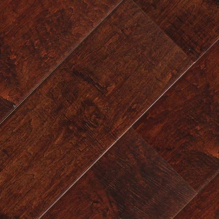 "Maple Old English - 6"" x 1/2"" Engineered Hardwood Flooring by Oasis"