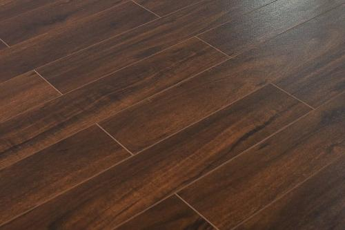 Virginia Walnut 14mm Laminate Flooring by Tropical Flooring