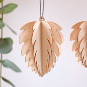 Wooden Cone Tree Decorations (set of two) - From Victoria Shop