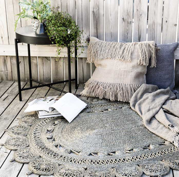 Oval Jute Rug - From Victoria Shop