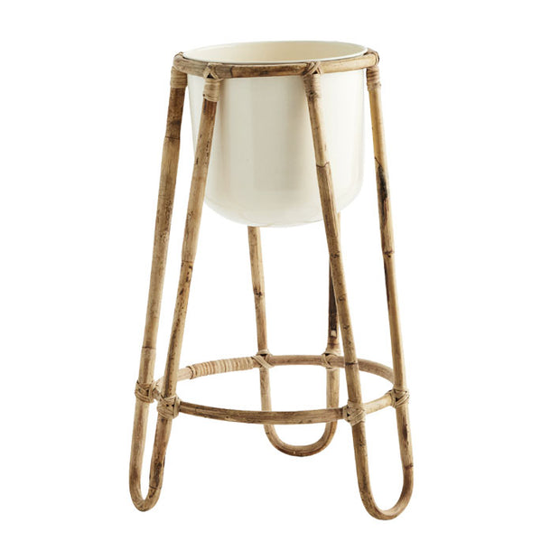 Bamboo Floor Plant Stand - From Victoria Shop