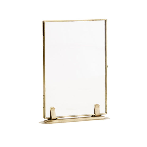 Brass Standing Picture Frame - From Victoria Shop