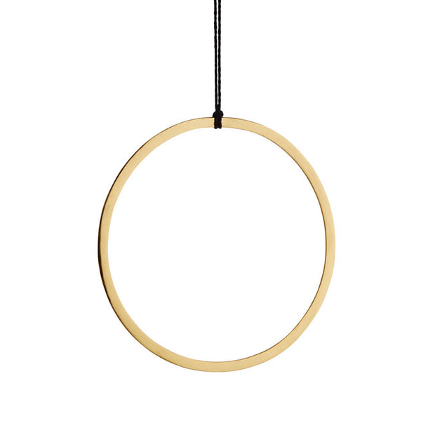 Hanging Gold Decoration Ring - From Victoria Shop