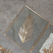 Large Gold Leaf Decoration