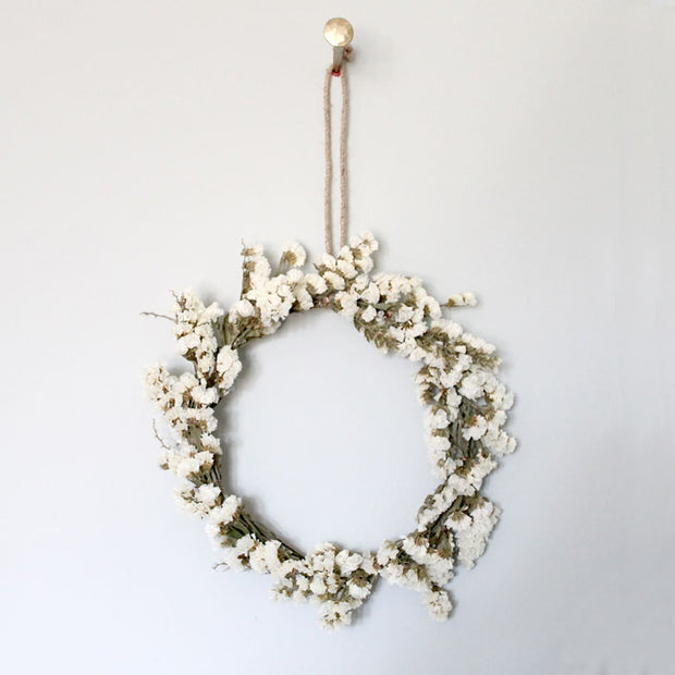 small hanging brass ring decoration