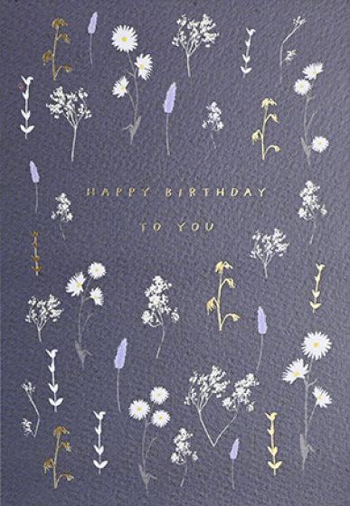 'Happy Birthday To You' Greeting Card