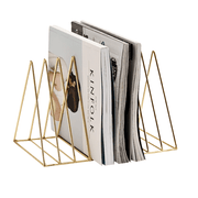 Gold Magazine Holder