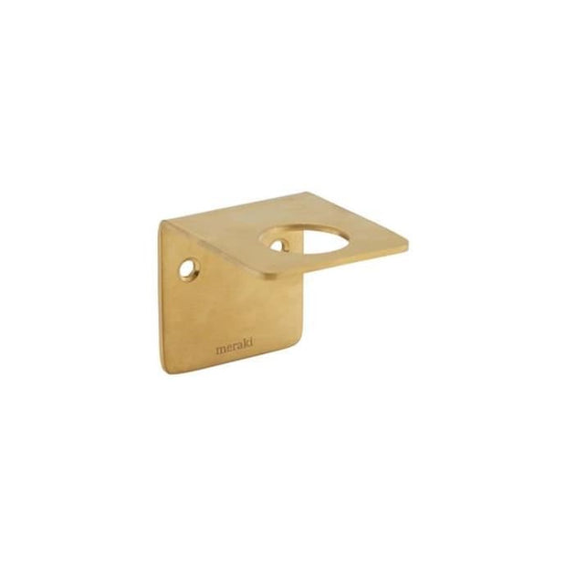 Meraki brass finish bottle hanger - From Victoria Shop