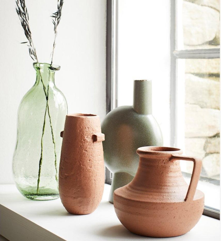 Rust Textured Vases