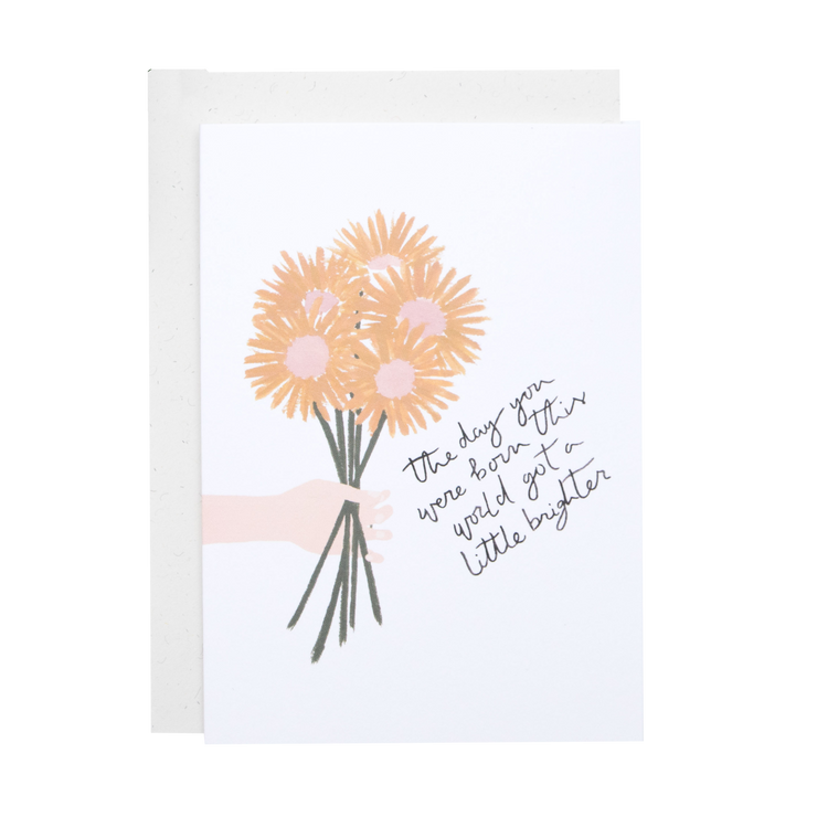 The Day You Were Born - Greeting card