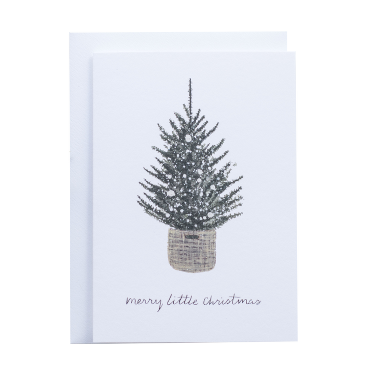 Merry Little Christmas - Greeting card