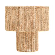 Natural Jute Double Tier Ceiling Shade
