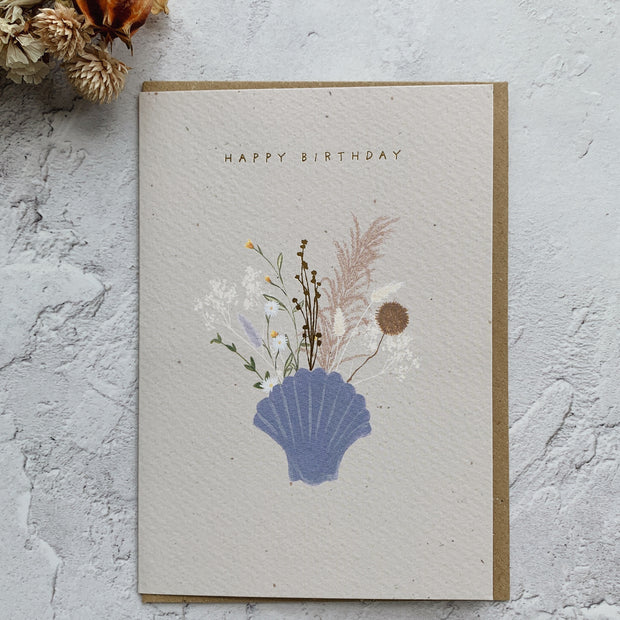 'Happy Birthday' Greeting Card