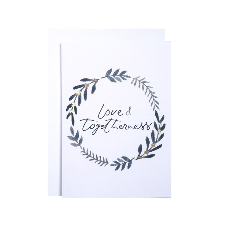 Love & Togetherness - Greeting card