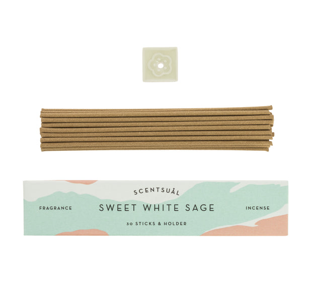 Scentsual Sweet White Sage Incense Sticks
