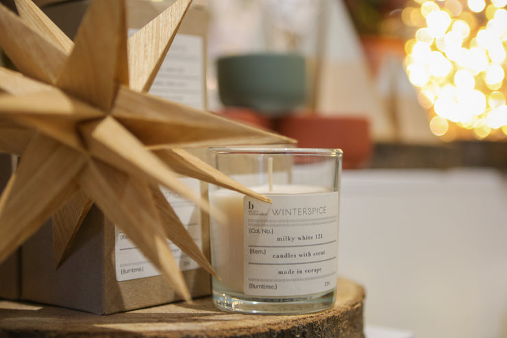 Broste Scented Soy Wax Candle (5 scents available)